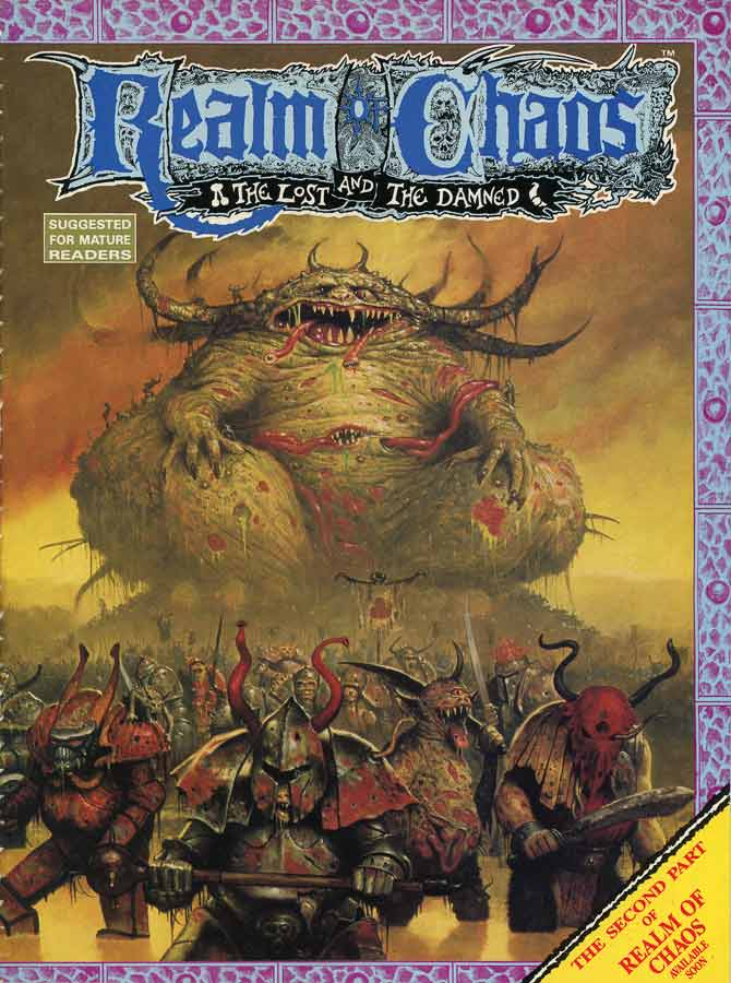 realm of chaos lost and the damned pdf