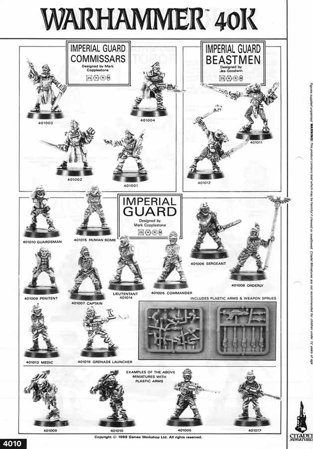 Oldhammer Forum • View topic - What fonts did GW use in their
