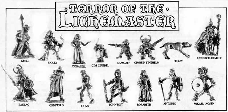 Image result for Terror of the Lichemaster